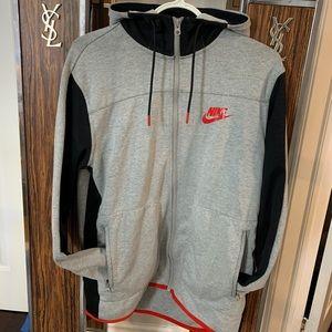 Nike Zip Up Sports Hoodie